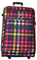Удобный 2- колесный чемодан, средний 77 л. DJ cell Morena average, разноцветный