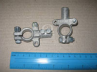 Клемма акк. 2 шт. (латунная) евро трубка  КАМАЗ,МАЗ (200 гр.) 11-3703210-11