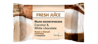 Туалетное мыло Кокос и Белый шоколад  FJ 75 грамм