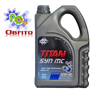 "Масло моторное полусинтетическое ""TITAN SYN 10W-40 MC"", 4л"