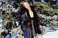 Парка зимняя с мехом финского песца, размеры 46,48,50 в наличии