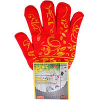 Перчатки садовые с ПВХ Virok 83V105