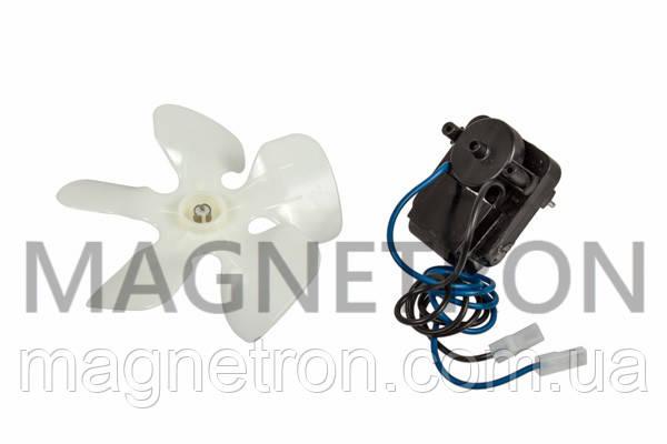 Двигатель вентилятора и крыльчатка для холодильника Indesit C00174705, фото 2