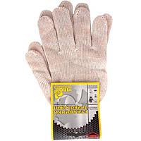 Перчатки трикотажные белые Virok 83V001