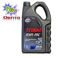 "Масло моторное полусинтетическое ""TITAN SYN 10W-40 MC"", 5л"