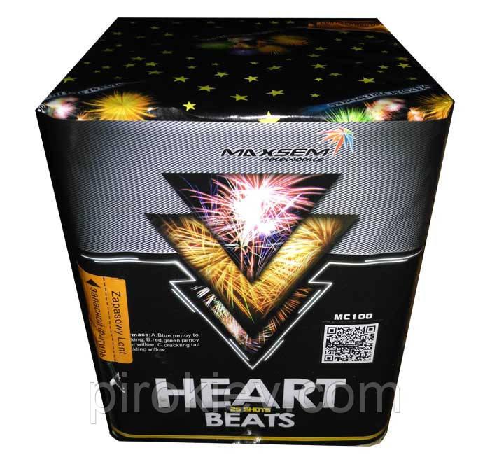 Фейерверк Heart Beats MC100