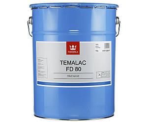 Эмаль алкидная TIKKURILA TEMALAC FD 80 антикоррозионная, TVL-белый, 18л