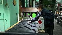 Шевронная лента. Изготовление шевронных лент. Рифление лент