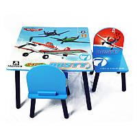 Стол + 2стула BT-CWT-0003 Самолеты 60*45*60