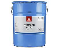 Эмаль алкидная TIKKURILA TEMALAC FD 50 антикоррозионная, TVL-белый, 18л