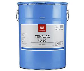 Эмаль алкидная TIKKURILA TEMALAC FD 20 антикоррозионная, TVH-белый, 18л