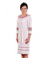 Женское вышитое платье с оригинальным дизайном В1014