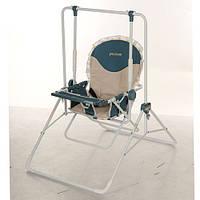 Детские качели 2в1(стульчик) BAMBI QS01-13 бежевая