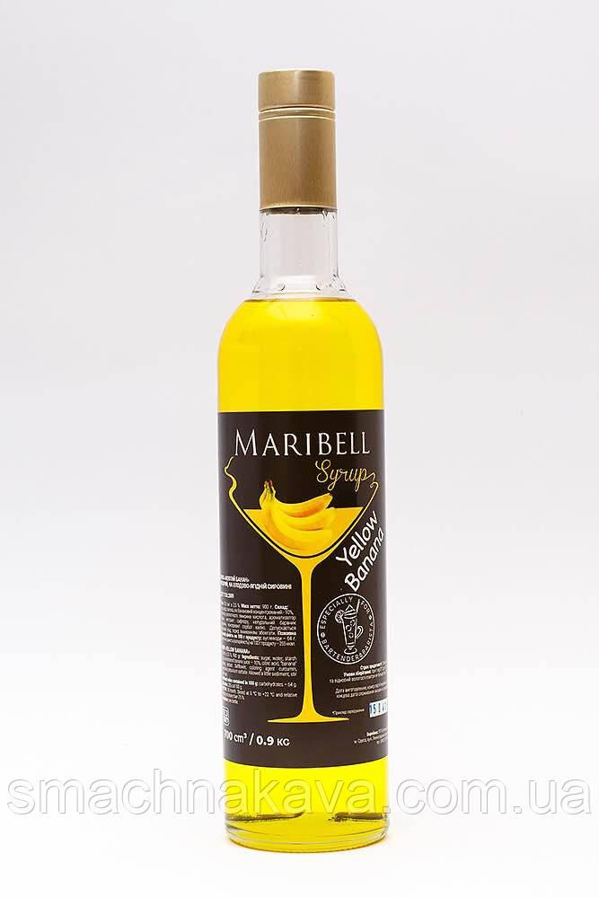 Сироп Желтый банан  ТМ Maribell