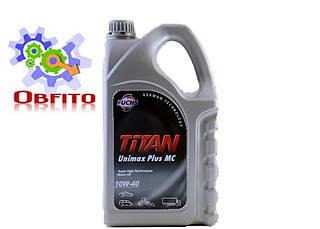 "Масло моторное полусинтетическое ""TITAN UNIMAX PLUS 10W-40 MC"", 5л"
