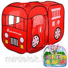 Детская палатка M 1401 Пожарная Машина