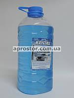 Омыватель стекла зимний -22 (жидкость в бачок омывателя) Синий (Bubble Gum) 3 л Kristall