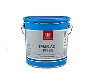 Эмаль алкидная TIKKURILA TEMALAC FD 80 антикоррозионная, TVL-белый, 2,7л