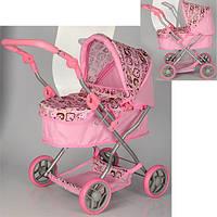 Коляска кукольная Melogo 9680 (розовая)***