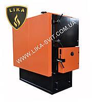 Котел твердотопливный LIKA (100-1500кВт) ручная загрузка топлива
