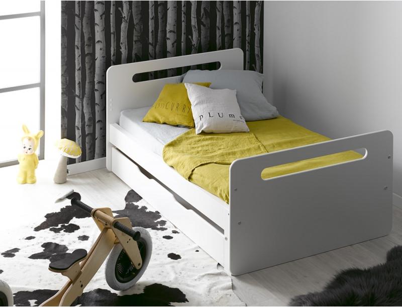 Кровать для подростка Junior Provence Lit Evolutif Feroe Blanc