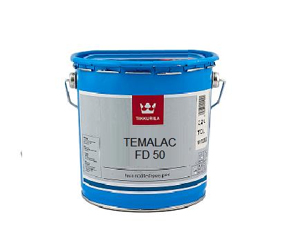 Эмаль алкидная TIKKURILA TEMALAC FD 50 антикоррозионная, TСL-транспарентный, 2,7л