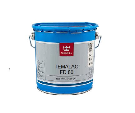 Эмаль алкидная TIKKURILA TEMALAC FD 80 антикоррозионная, TCL-транспарентная, 2,7л