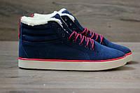 Кроссовки Adidas Ransom Fur Blue (С Мехом) мужские зимние