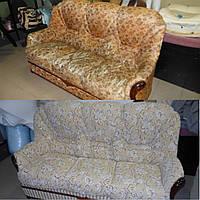 Перетяжка дивана в классическом стиле
