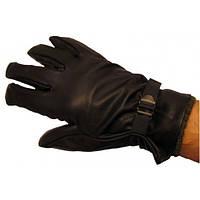 Кожаные перчатки c шерстяным вкладышем армии Бельгии, новые