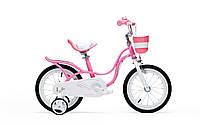 "Велосипед RoyalBaby LITTLE SWAN 14"", розовый"