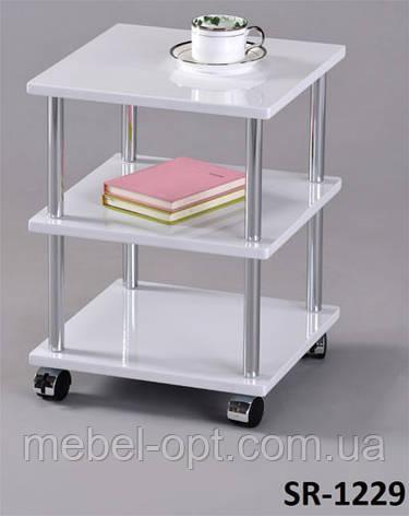 Кофейный столик SR-1229, прикроватная тумбочка на колесиках, фото 2