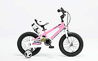 "Велосипед RoyalBaby FREESTYLE 14"", OFFICIAL UA, розовый"