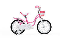 "Велосипед RoyalBaby LITTLE SWAN 16"", розовый"