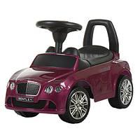 Машинка каталка Bentley(Бентли) автопокраска Z 326S-8, лиловый***