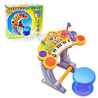 Синтезатор детский BB52B со стульчиком и микрофоном
