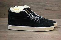 Кроссовки Adidas Ransom Fur Black (С Мехом) мужские зимние
