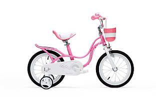 "Велосипед RoyalBaby LITTLE SWAN 18"", рожевий"