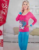 Женская турецкая хлопковая пижама
