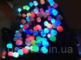 Светодиодная гирлянда Бахрома- Пальчики  120 LED, 2,5х0,6 м