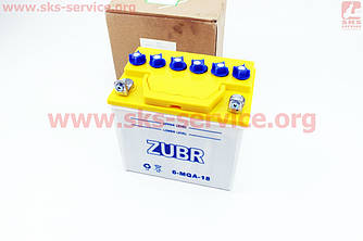 Аккумулятор 18Аh 6-MQA-18 (кислотный сухой) 175/125/185мм