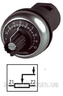 Потенцоометр 4,7 кОм M22-R4K7 EATON