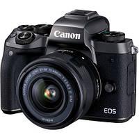 Фотоаппарат Canon EOS M5 kit 15-45 + переходник EOS M – EOS EF