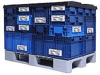 Пластиковый тяжелый поддон для сета KLT 1200x800