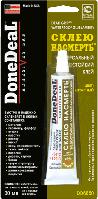 DoneDeal DD6650 Водостойкий универсальный клей «Склею насмерть» (цвет: янтарный) 30мл
