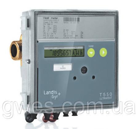 Счетчик тепла ультразвуковой ULTRAHEAT T550/UH50 Dn20 1,5 м3/час резьбовой