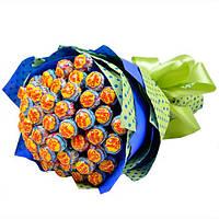 Детский букет из конфет чупа чупсов