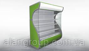 Витрина холодильная (горка, регал) Айова 1,4м