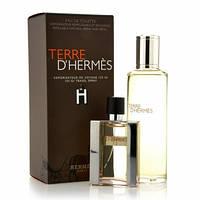 Hermes Terre men (edt 30ml+edt 125 refill) набор