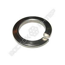 Шайба пружинная нержавеющая М20 DIN 127 | Размеры, вес, фото 2